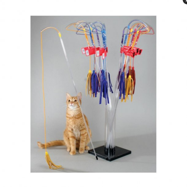 VEE PURRfect LTHR Cat Toy