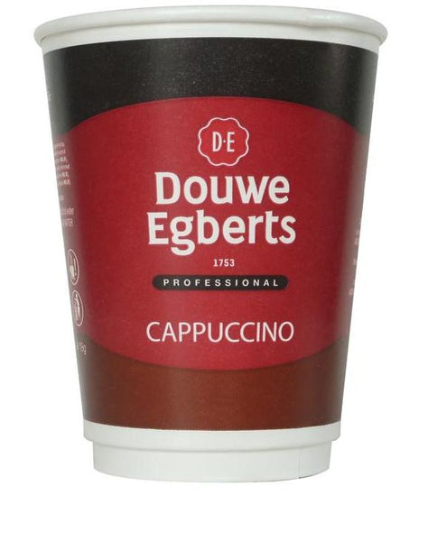 Douwe Egberts Cappuccino 12oz Recyclable Drinks To Go