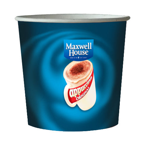 Maxwell House Instant Cappuccino Incup Paper 76mm