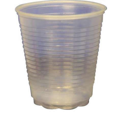 Water Cups - Clear Plastic