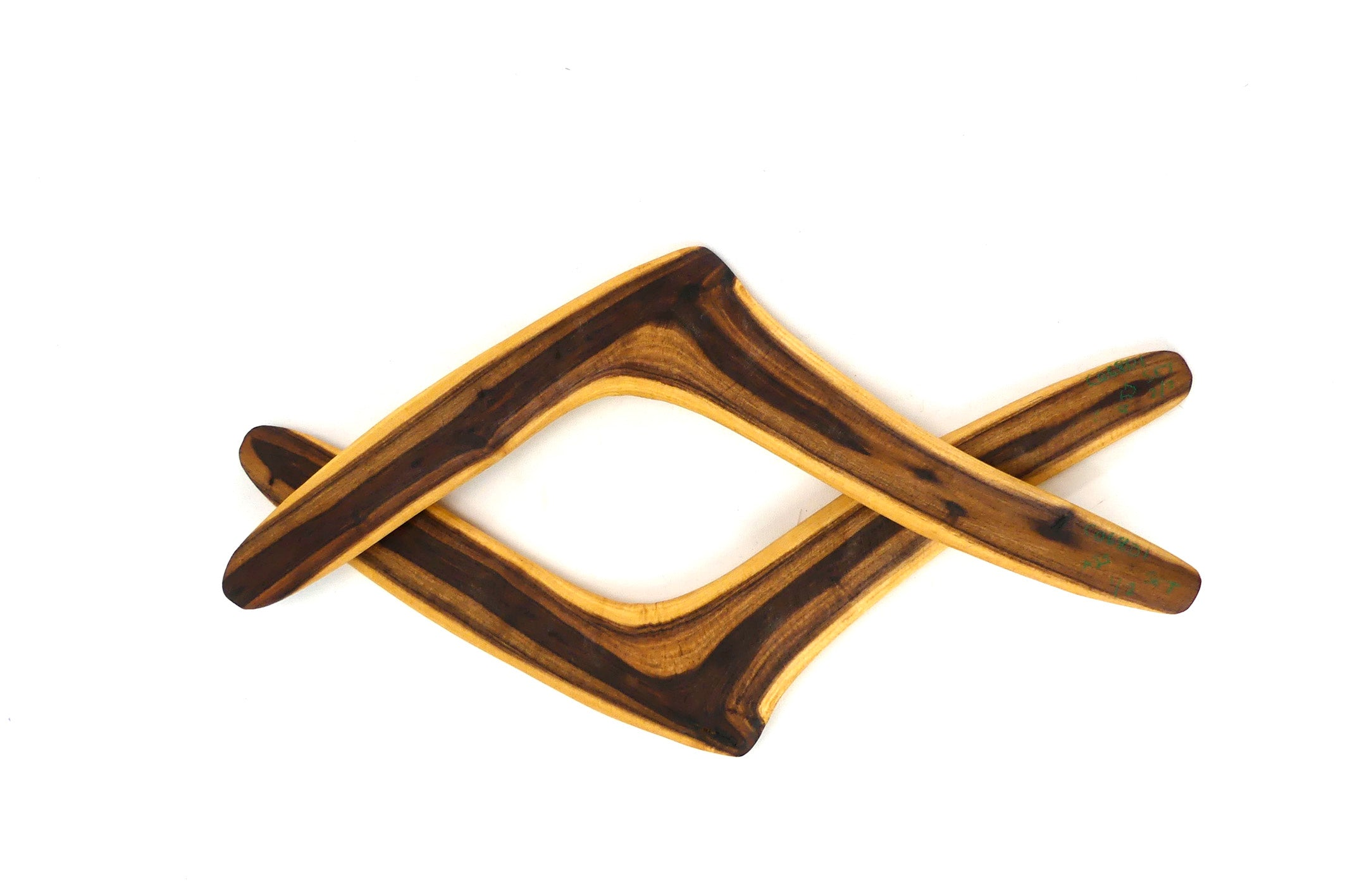 Ceremonial Kali Set of 2 (Desert Boomerang)