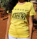 Load image into Gallery viewer, Maruku Arts T-Shirt designed by Charmaine Kulitja