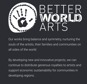 Better World Arts Greeting Card
