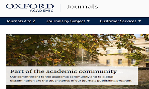 Oxford Academic Journal Bans Authors Using the Term 'Tobacco Products'