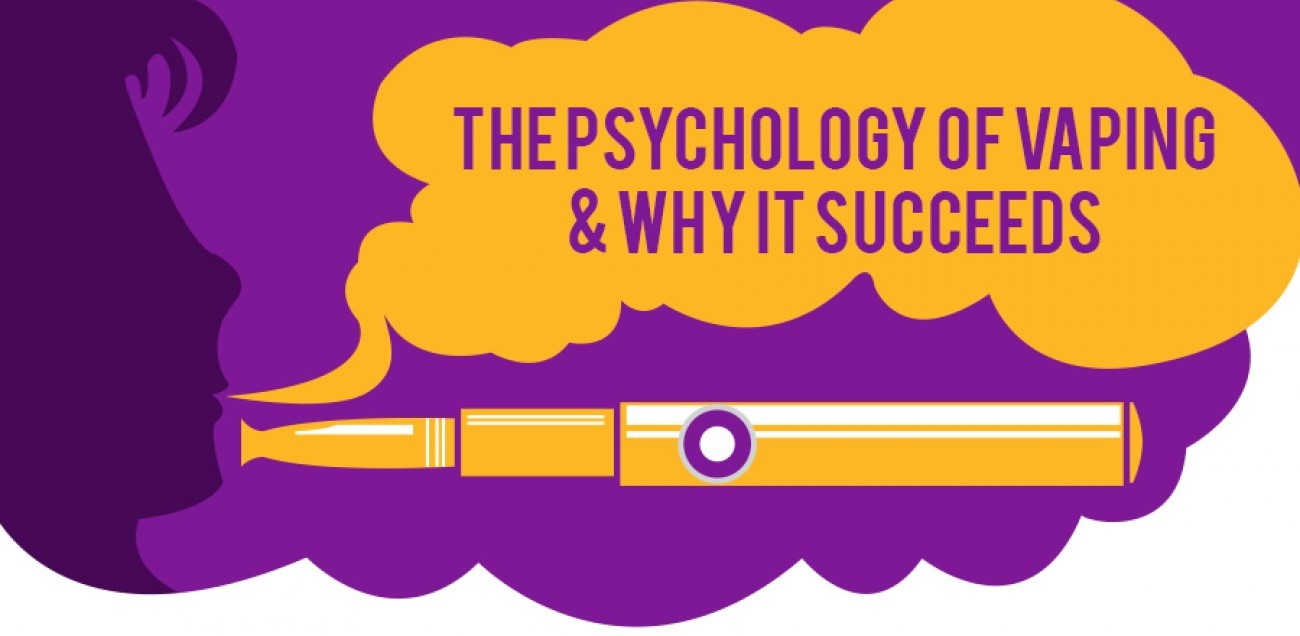 The Psychology of Vaping & Why it Succeeds - Infographic