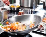 food in stainless steel pan - purplebox vapours