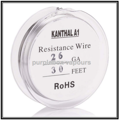 purplebox vapours Kanthal A1 Resistance Wire