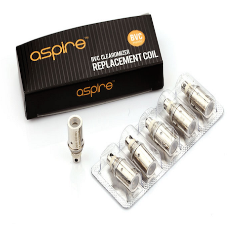 aspire bvc coils from purplebox vapours