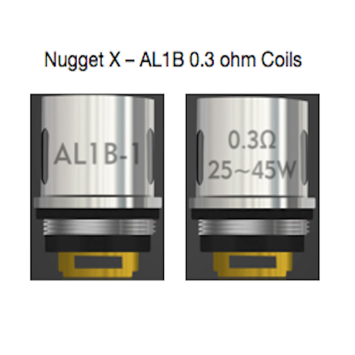 Nugget X coils from purplebox vapours