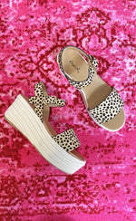 Cheetah Platform Wedge