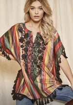 Serape Happy Tunic