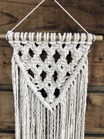 Macrame Twist Wall Hanging