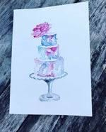Celebration Cake Notecard