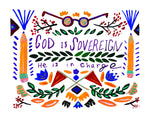 God is Sovereign Print
