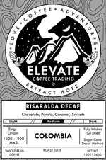 Decaf - Risaralda Colombia - Medium Roast