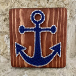 Anchor String Art Sign