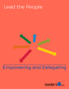 Empowering and Delegating