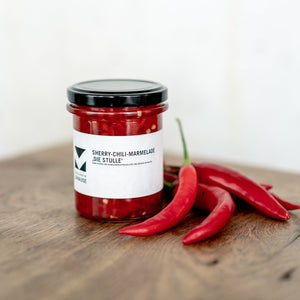 Zuhause Sherry-Chili-Marmelade