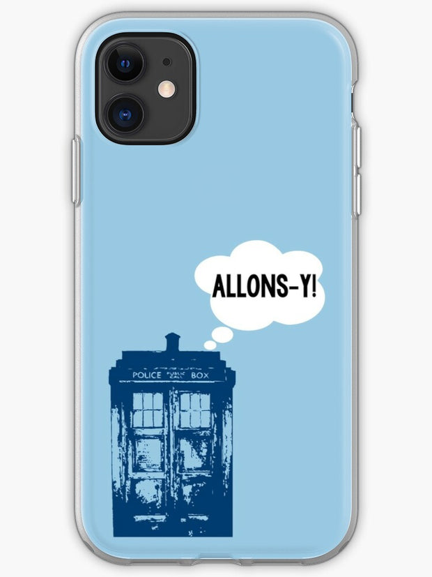 Allons-y! iPhone 11 case