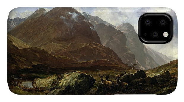 Glencoe Scotland iPhone 11 case