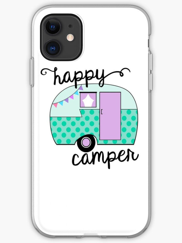 Happy Camper (Retro 70s Camping) iPhone 11 case