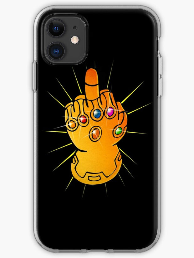 Infinity Finger iPhone 11 case