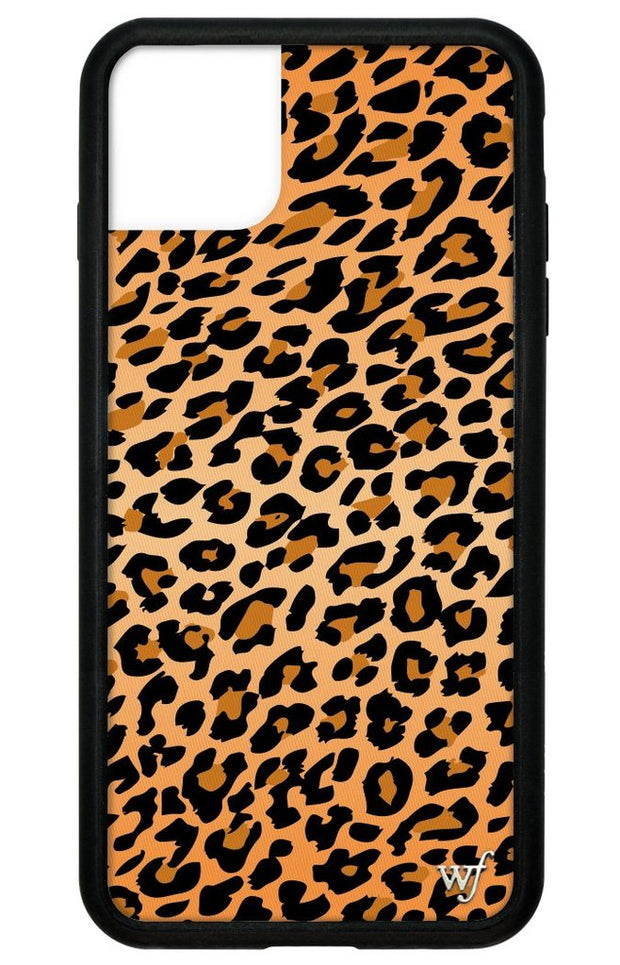 Pink leopard iphone 11 case