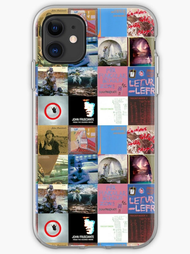 Rhcp albums iPhone 11 case