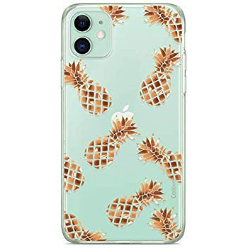 Rose Gold Sparkle Pineapple iphone 11 case