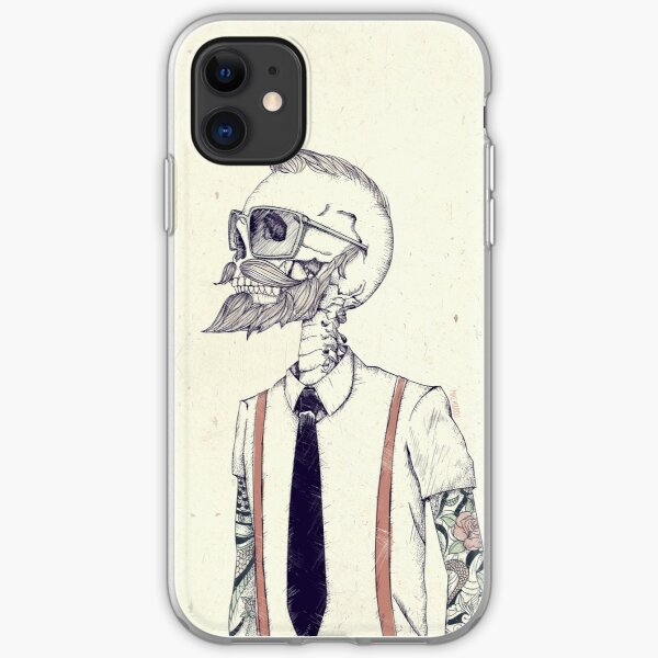 The Gentleman becomes a Hipster iphone 11 case