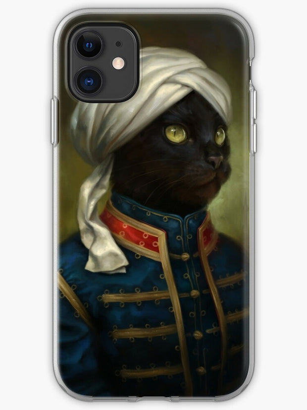 The Hermitage Court Waiter Cat iPhone 11 case