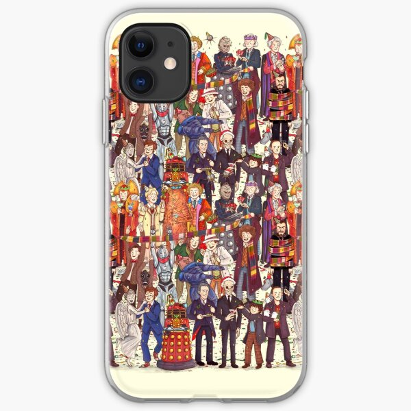 The party doesn't start until the Doctor walks in...twelve times iPhone 11 case