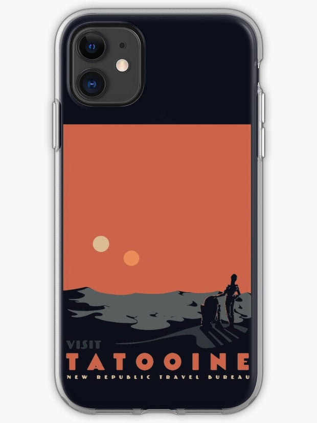 Visit Tatooine iphone 11 case