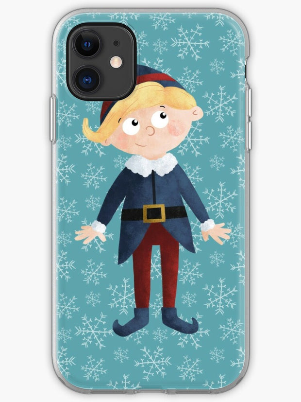Yukon Hermey and the Bumble in Teal iPhone 11 case