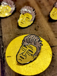 David Lynch Twin peaks pin
