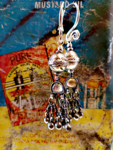 Vintage assembly earring