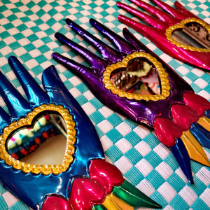 Mexican hand mirrors