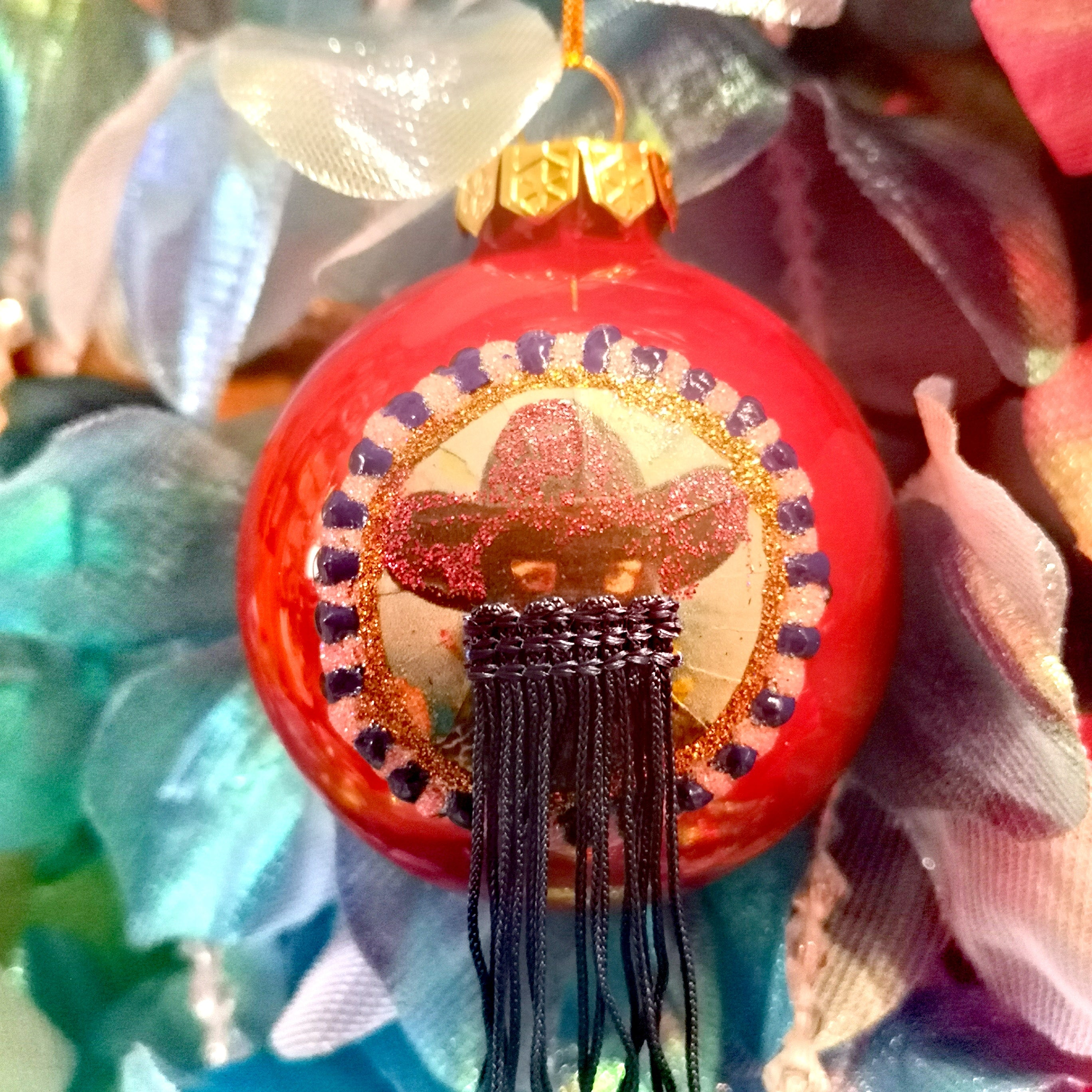 Orville peck glass baubles