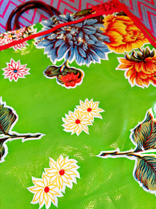 Mexican oilcloth shopper