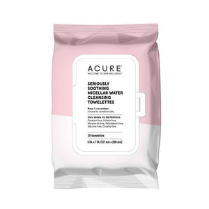 Acure Micellar Water Cleansing Towelettes