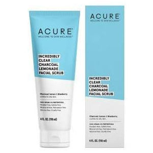 Acure Incredibly Clear Charcoal Lemonade Facial Exfoliator