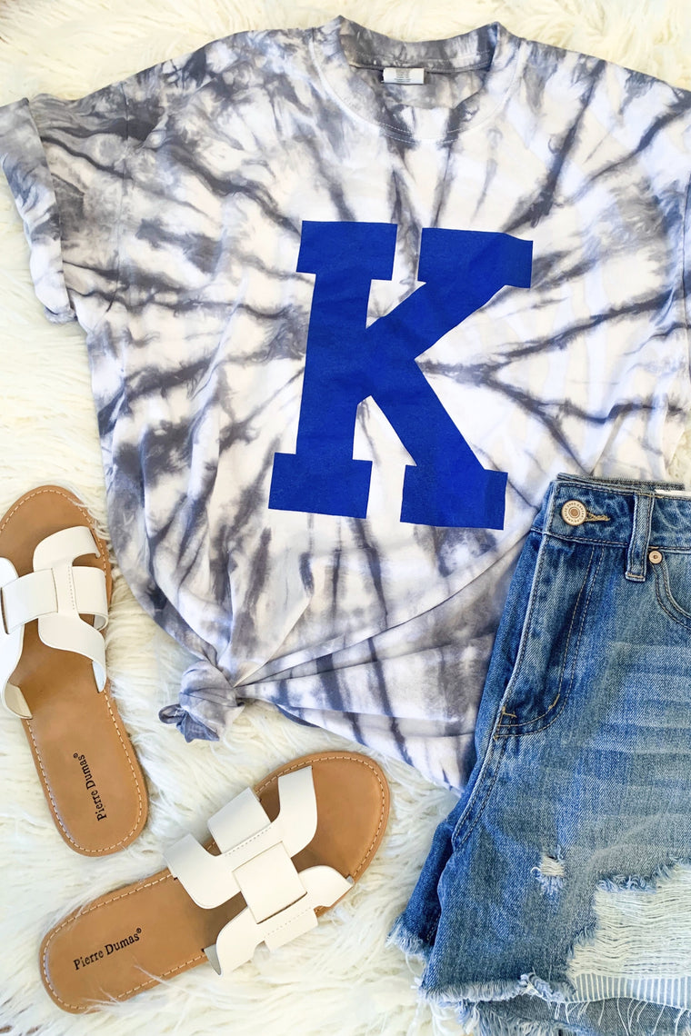 Big K Kentucky Tie Dye T-Shirt-T-Shirt-Carolyn Jane's Jewelry
