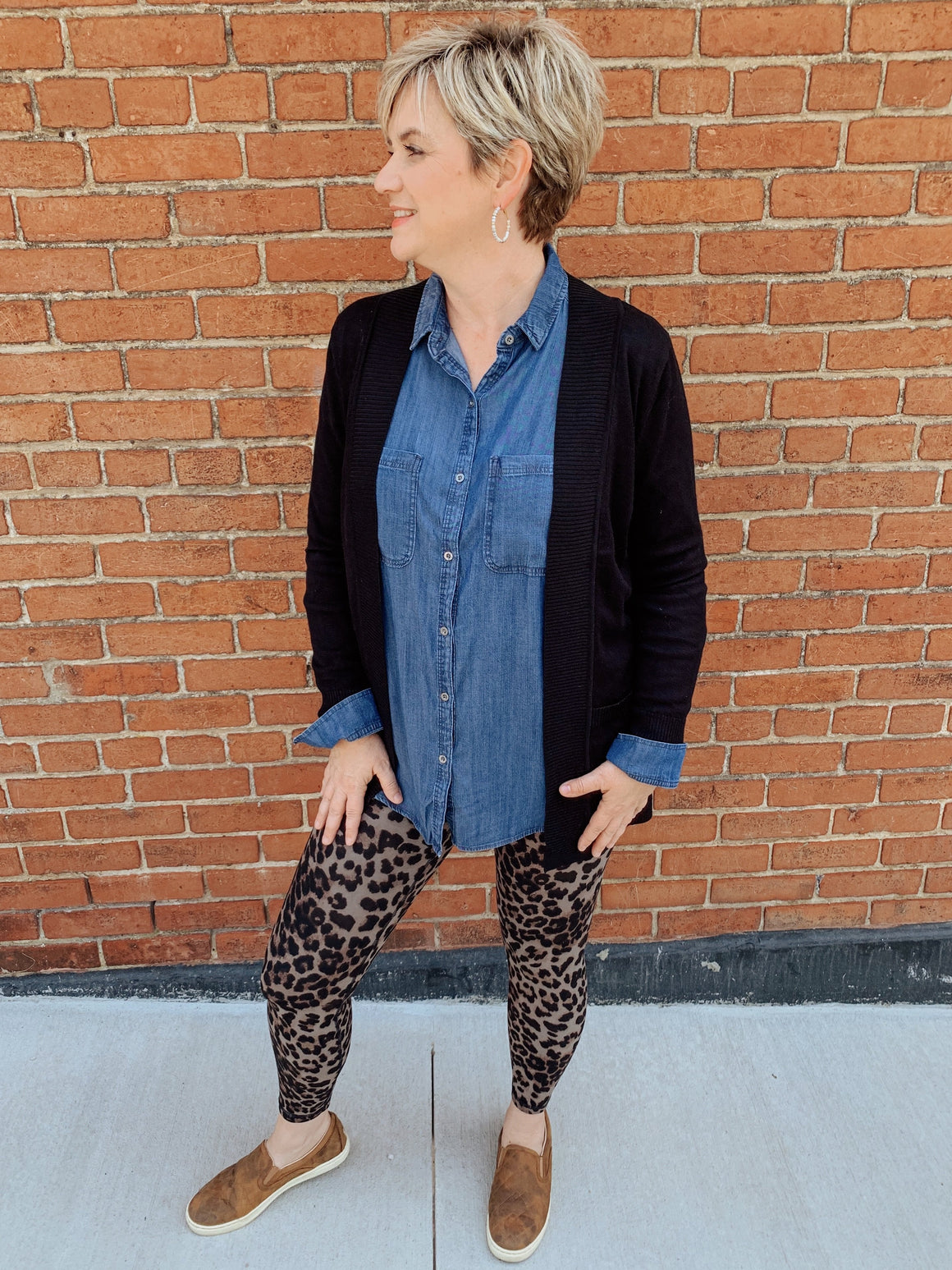 Butter Soft Leopard Leggings-Carolyn Jane's Jewelry