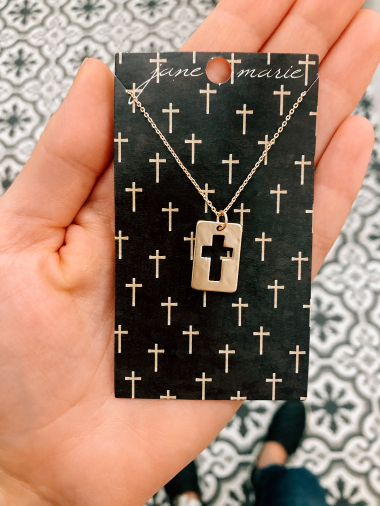 Cross Necklace-Carolyn Jane's Jewelry