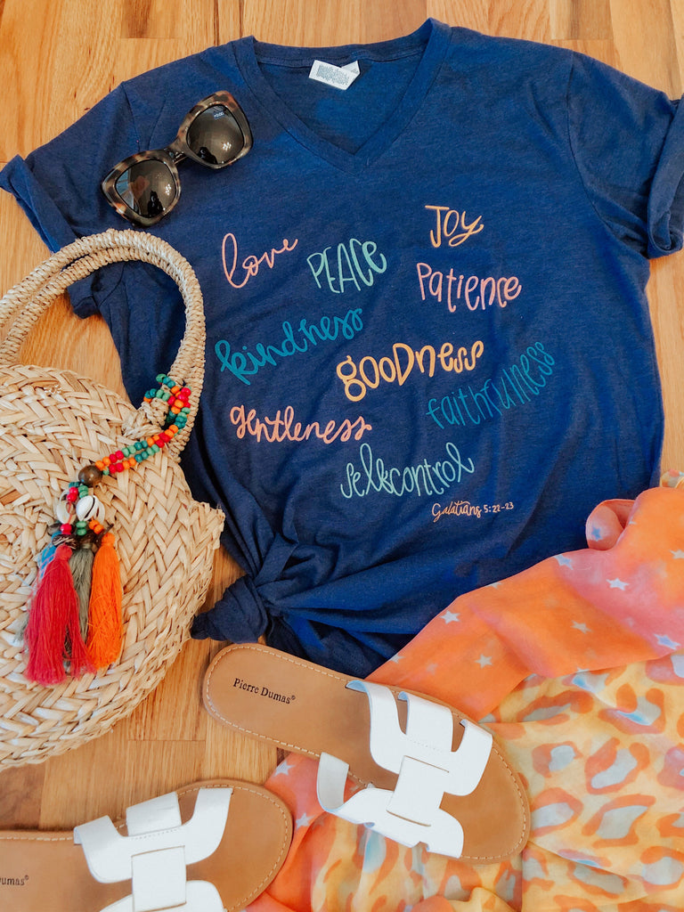 Fruits of the Spirit T-Shirt-T-Shirt-Carolyn Jane's Jewelry