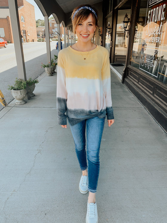 Honey Dew Ombré Top-Carolyn Jane's Jewelry