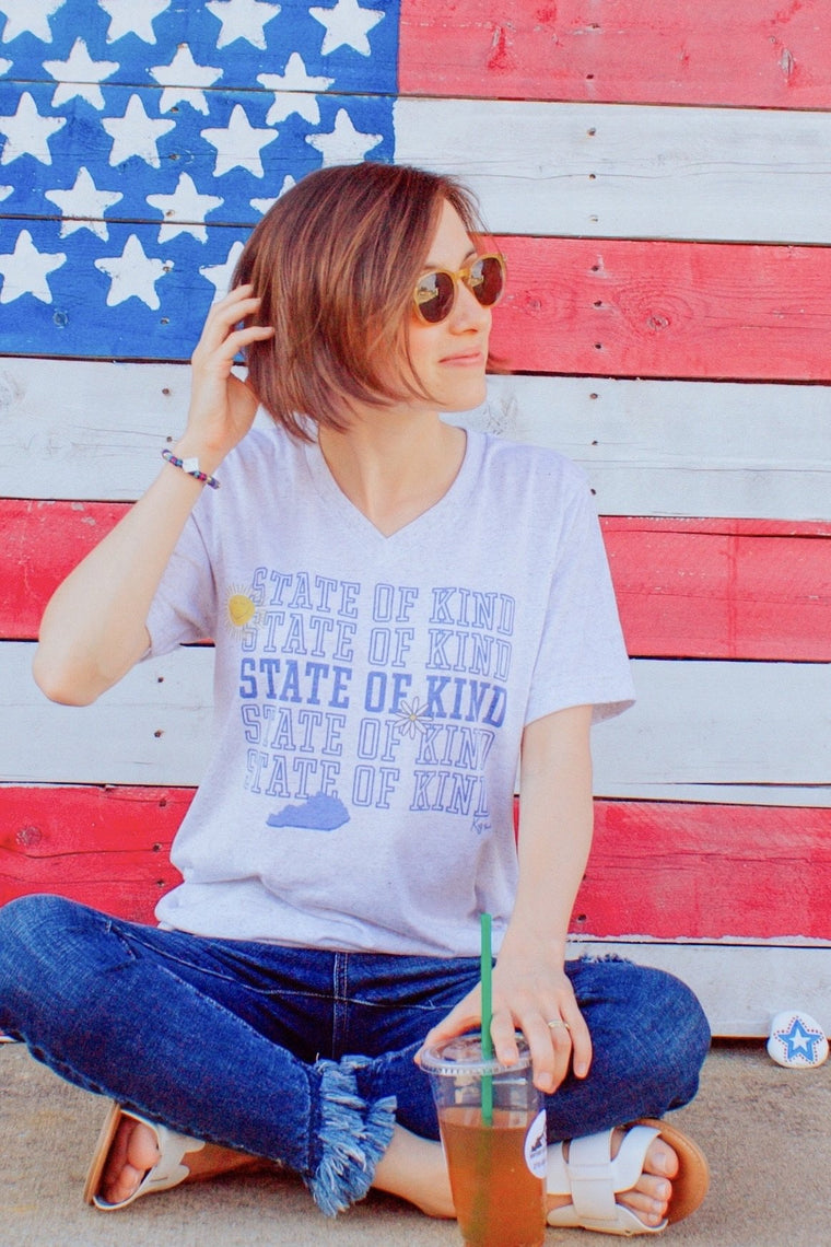Kentucky is a State of Kind T-Shirt-Carolyn Jane's Jewelry