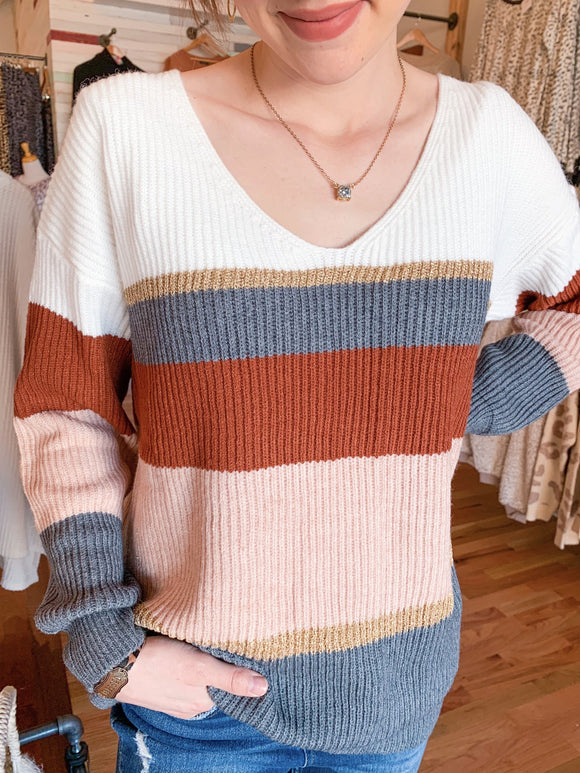 Lillian Knitted Sweater-Carolyn Jane's Jewelry