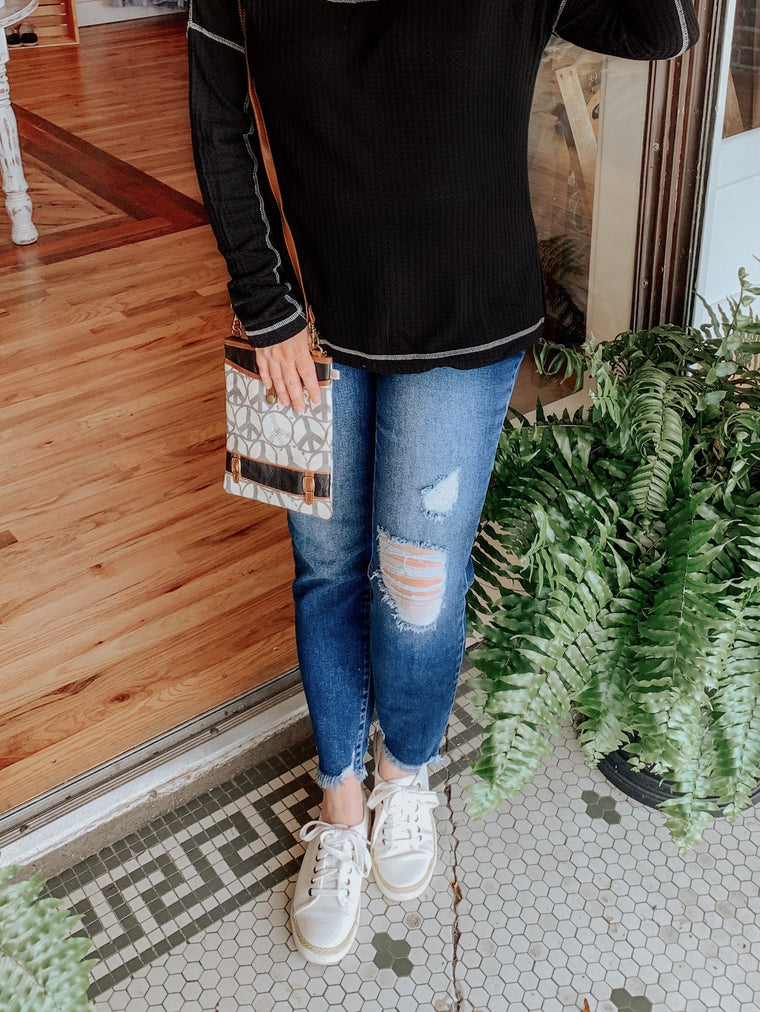 Margie High Rise Ankle Skinny KanCan-Carolyn Jane's Jewelry