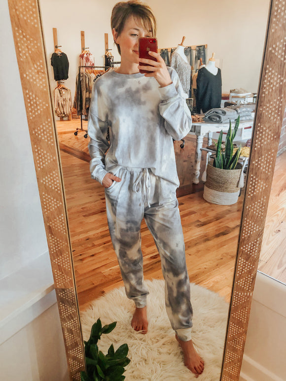 Perfect Tye Dye Pajama Set Lounge wear-Carolyn Jane's Jewelry